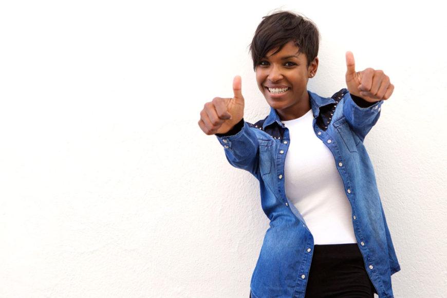 black-girl-thumbs-up
