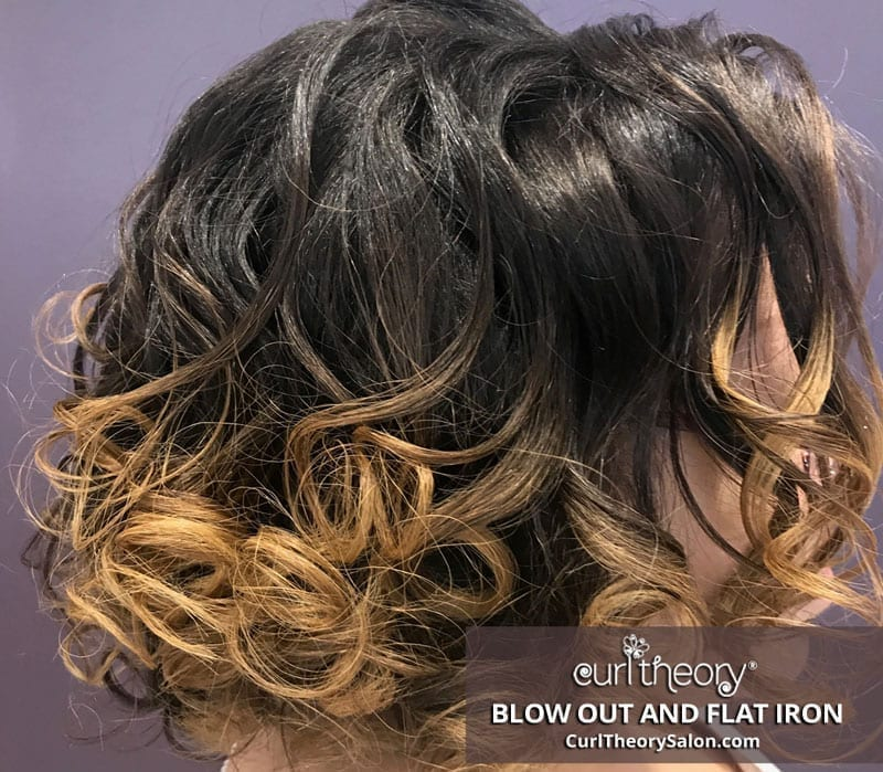 Curl Theory - Blow Out and Flat Iron