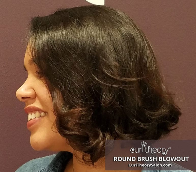 Curl Theory - Round Brush Blowout